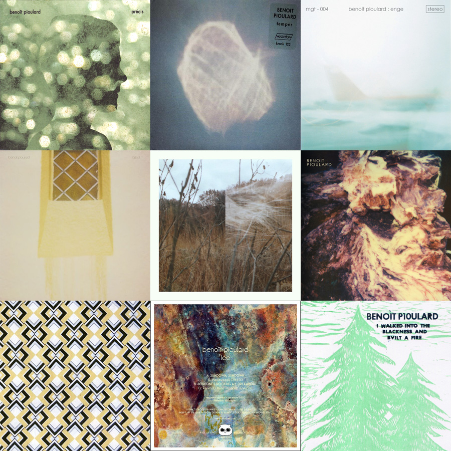 A collection of Benoît Pioulard covers