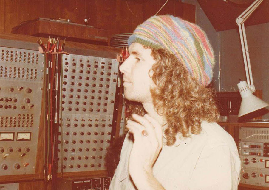 Edith in the studio (New York, 1978)