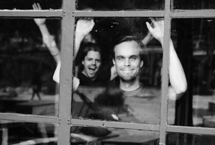 Greg Haines and Peter Broderick (Photo: Antje Taiga Jandrig)
