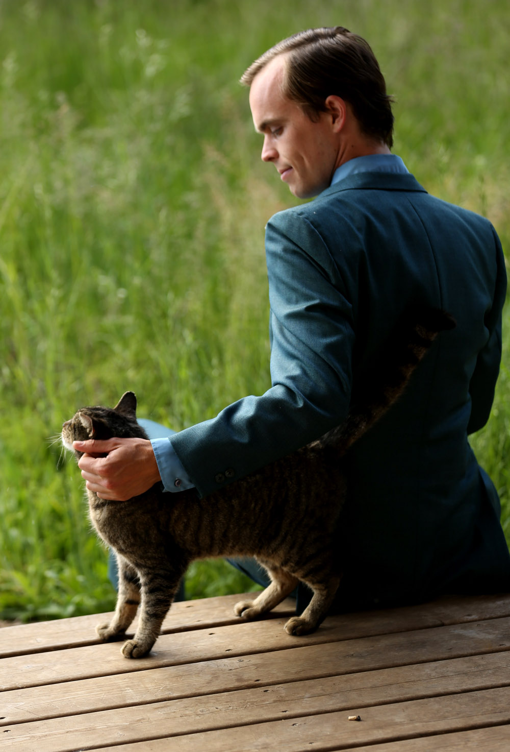 Peter Broderick & His Cat
