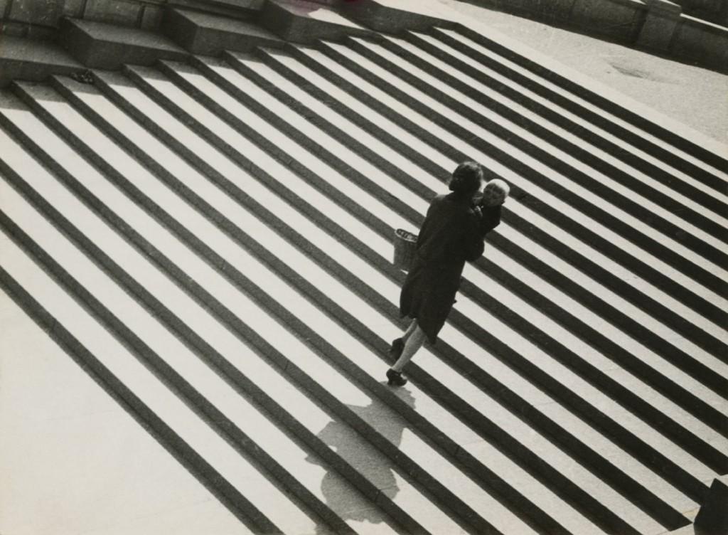 Alexander Rodchenko: Stairs (1930)