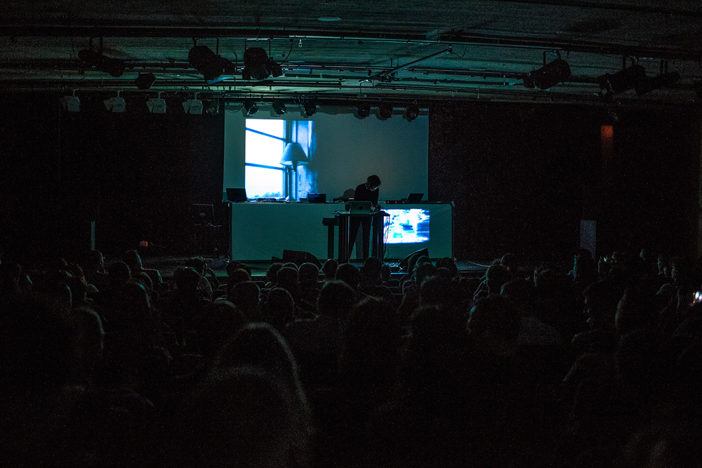 Klara Lewis Live @ She Makes Noise Festival, Madrid, February 27, 2015 (Photo: Irma Collin)