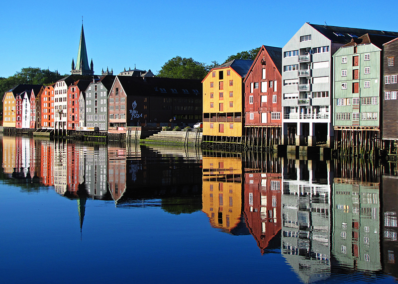 A piece of Trondheim (Photo: Rainer Schütz)
