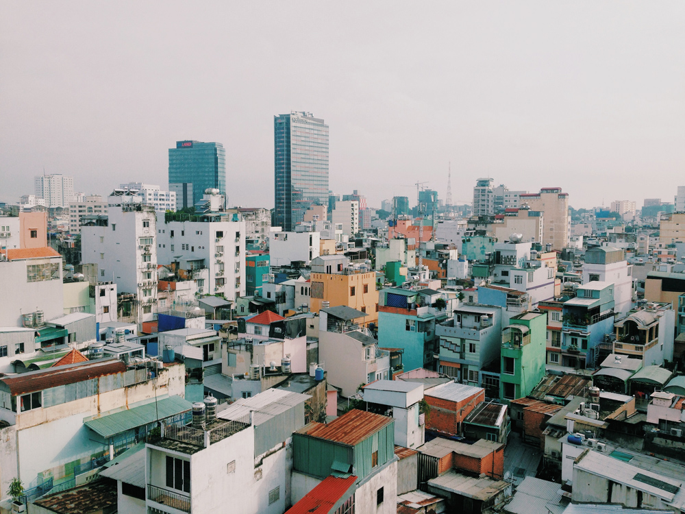 Instead of the War Remnants Museum, enjoy a photo of Ho Chi Minh City (Photo: Harrie Langsbury)