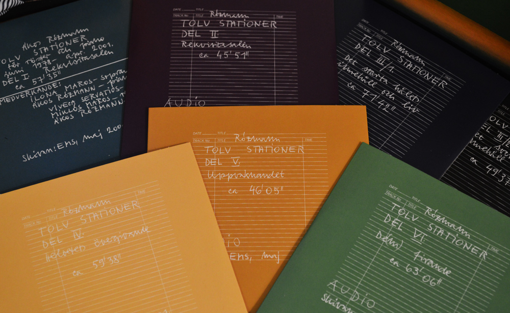 The impressive 7CD set of Twelve Stations / Tolv Stationer