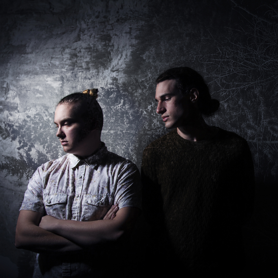 Lying Light In The Quiet: Zac Knuttila and Alex Stooshinoff (Photo: Emily Kohlert)
